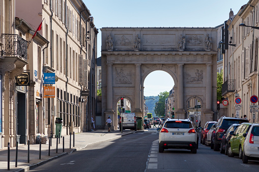 Porte Stanislas In Nancy Stock Photo - Download Image Now