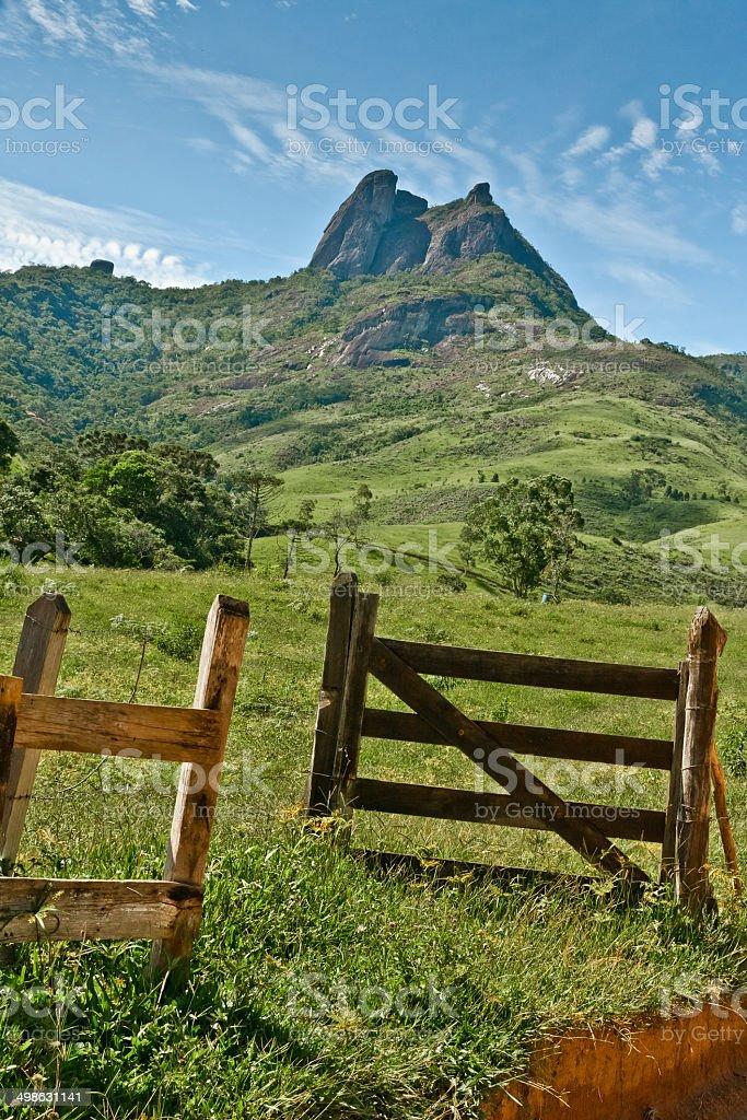 Porteira stock photo