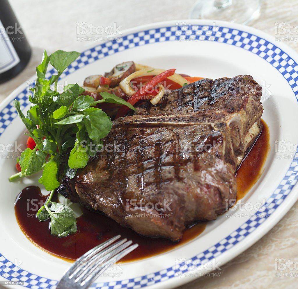 Porterhouse royalty-free stock photo