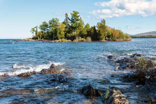 Porter's Island - Copper Harbor in Michigan's Keweenaw Peninsula, USA