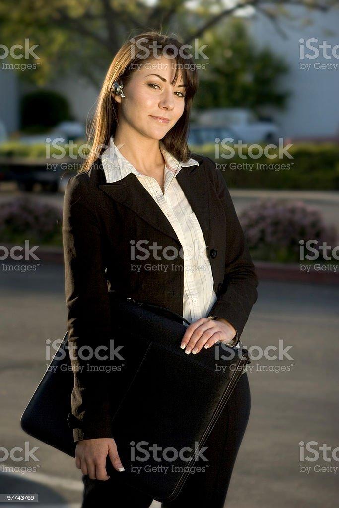 Portfolio Girl royalty-free stock photo