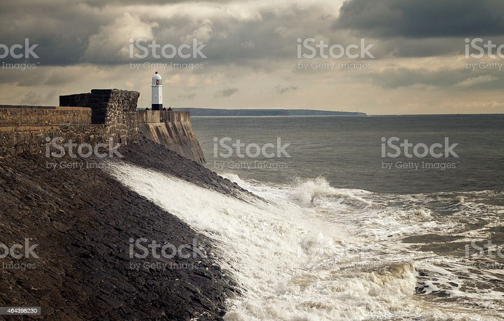 Porthcawl Lighthouse stock photo