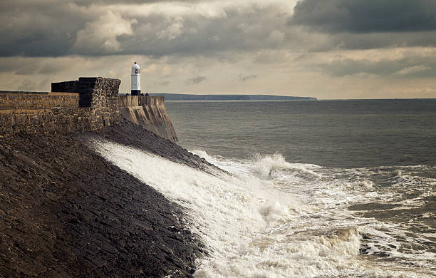 Porthcawl Lighthouse Porthcawl Lighthouse south wales stock pictures, royalty-free photos & images