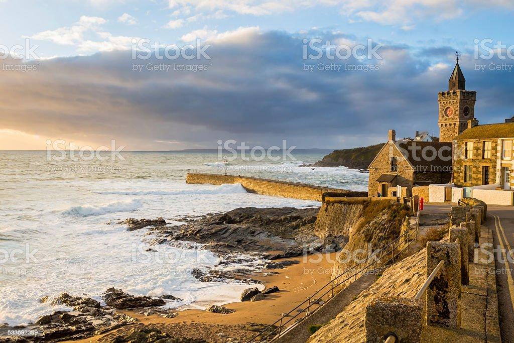 Porthleven Cornwall England UK stock photo