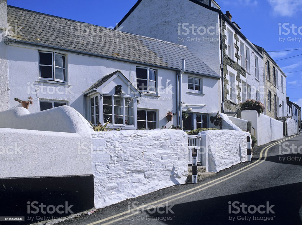 porthleven royalty-free stock photo