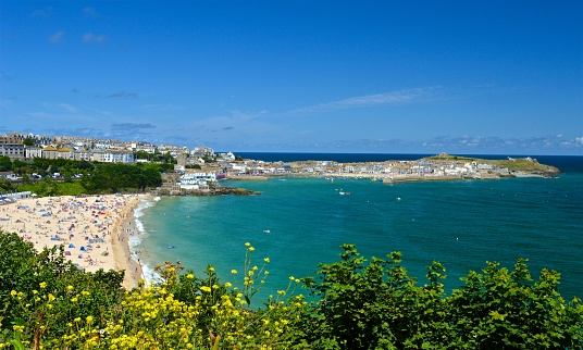 Porthminster view to St Ives