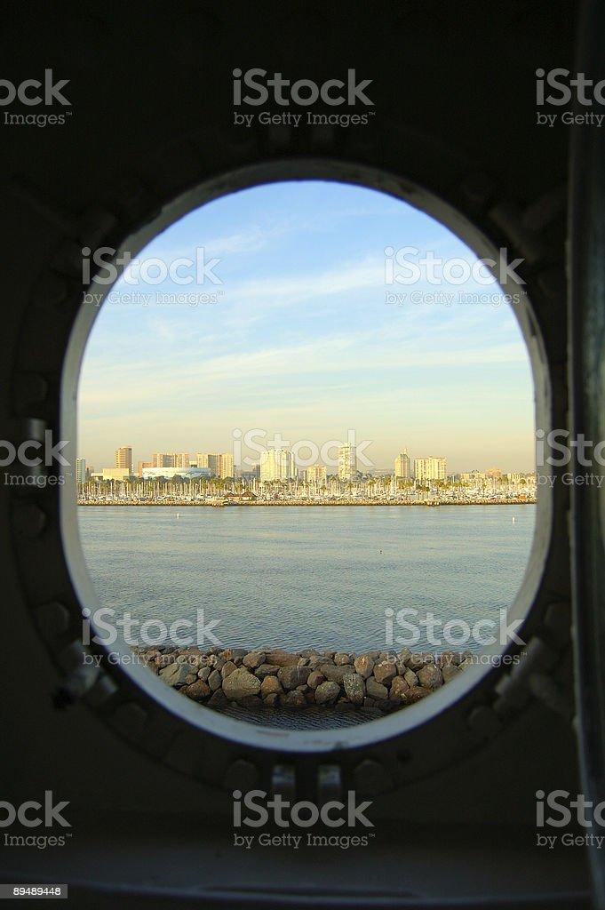 Porthole! royalty-free stock photo
