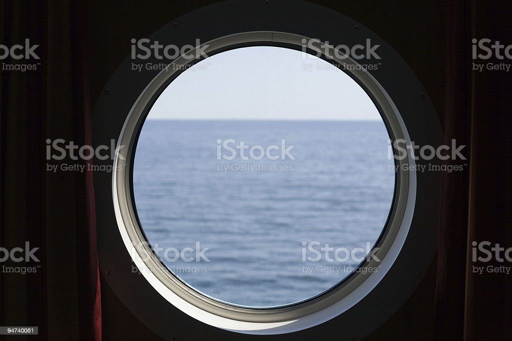 Porthole stock photo