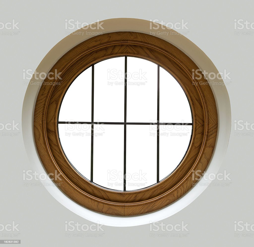porthole window stock photo