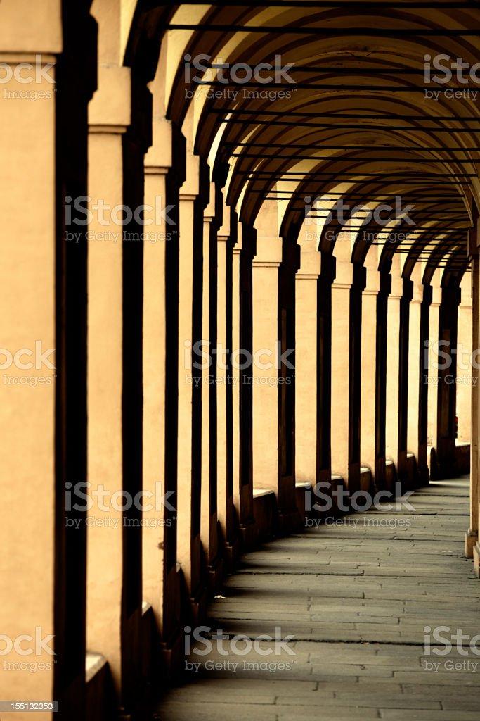 Portico di San Luca In Bologna stock photo