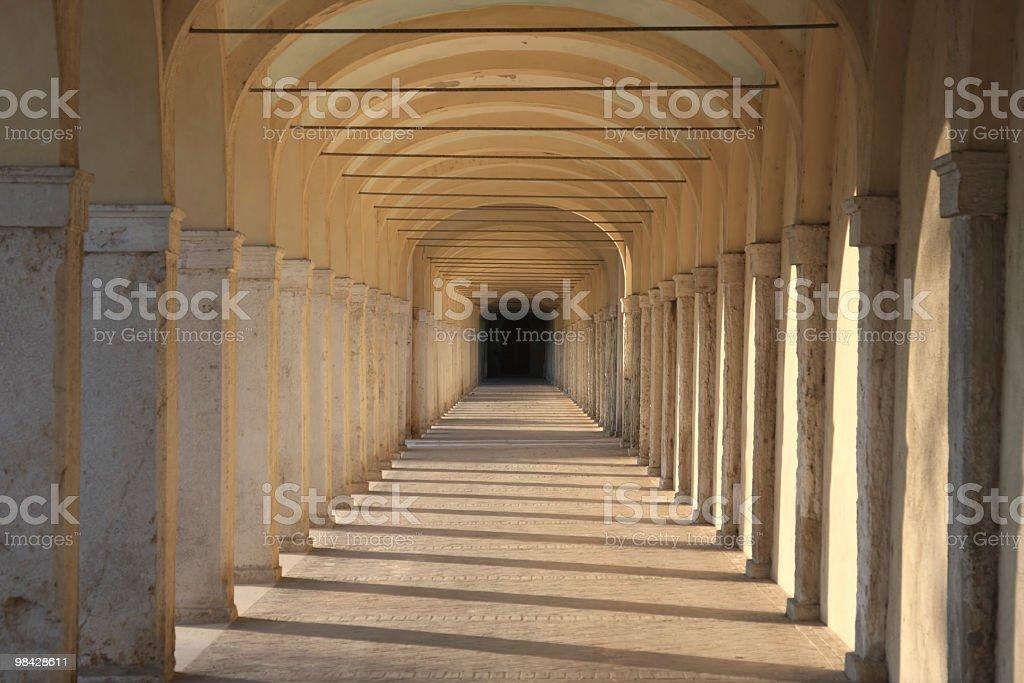 Porticoes in Comacchio, Italy royalty-free stock photo