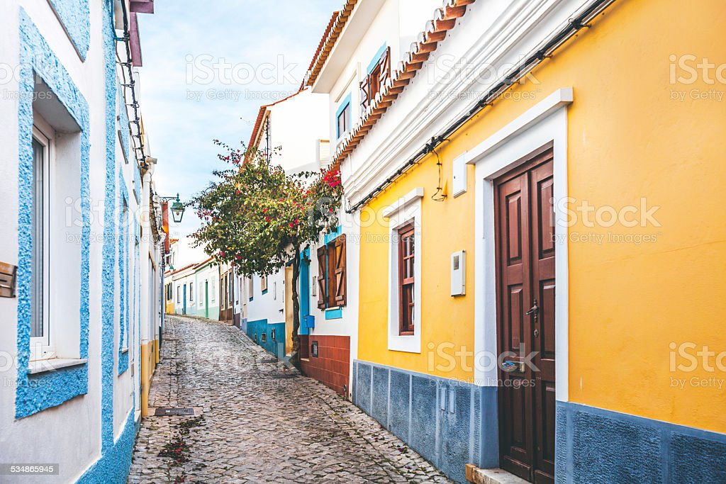 Portimao, Algarve, Portugal. stock photo