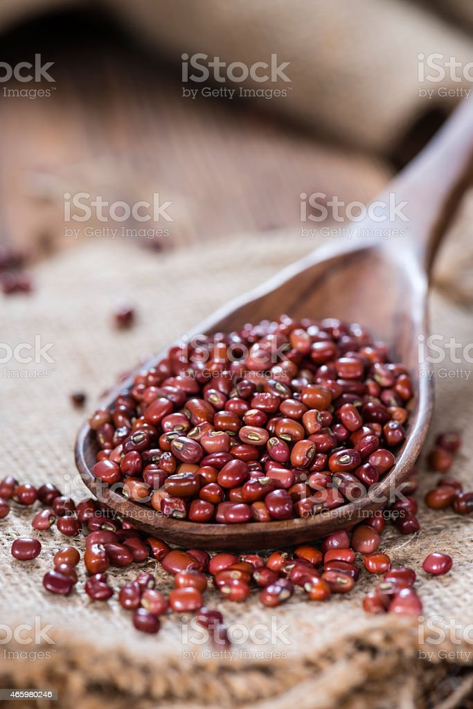 Portion of Red Beans stock photo