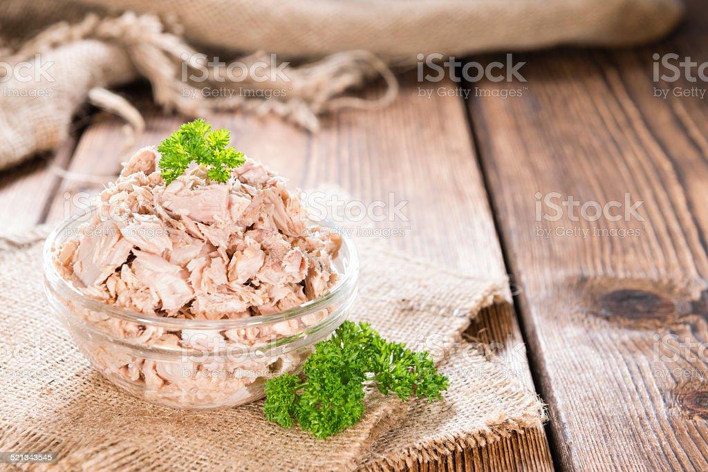 Parte de atún - foto de stock