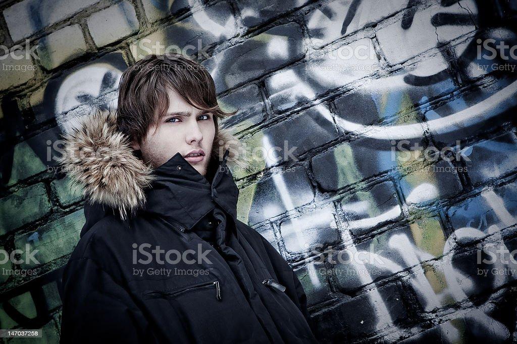 Portirait of man royalty-free stock photo