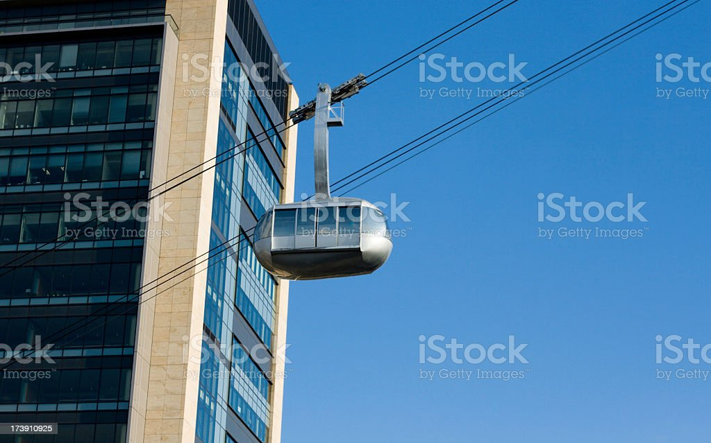 Portland aerial tram - Oregon royalty-free stock photo