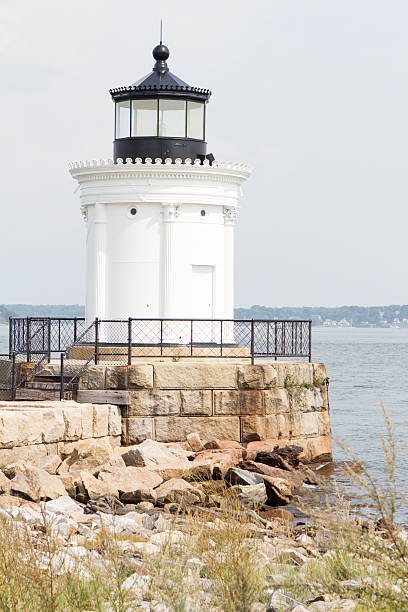 Portland Breakwater (Bug) Light stock photo