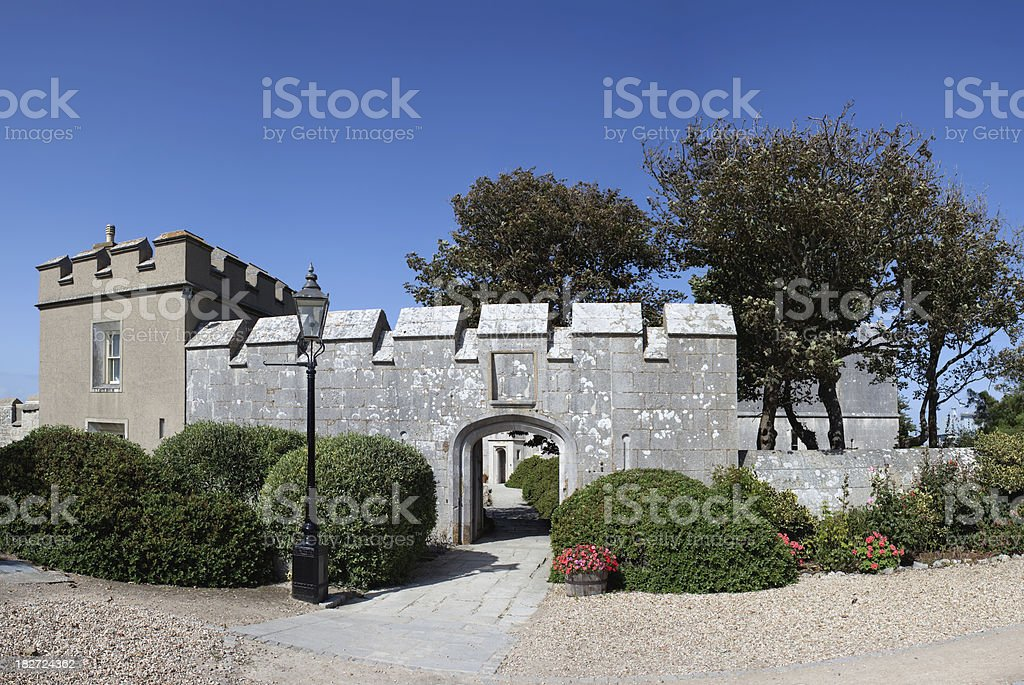 portland castle stock photo
