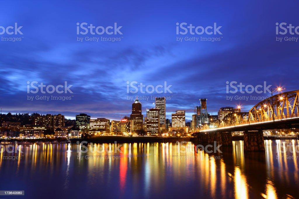 Portland Cityscape royalty-free stock photo