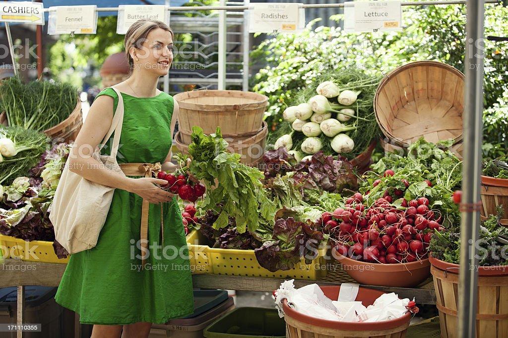 Portland Farmer's Market royalty-free stock photo