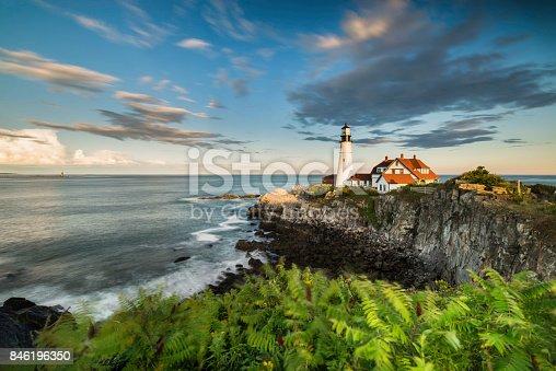 Atlantic Ocean, Famous Place, Lighthouse, Sea, Cape Elizabeth
