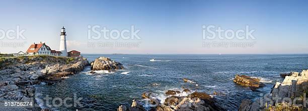 Photo of Portland Head Lighthouse panorama
