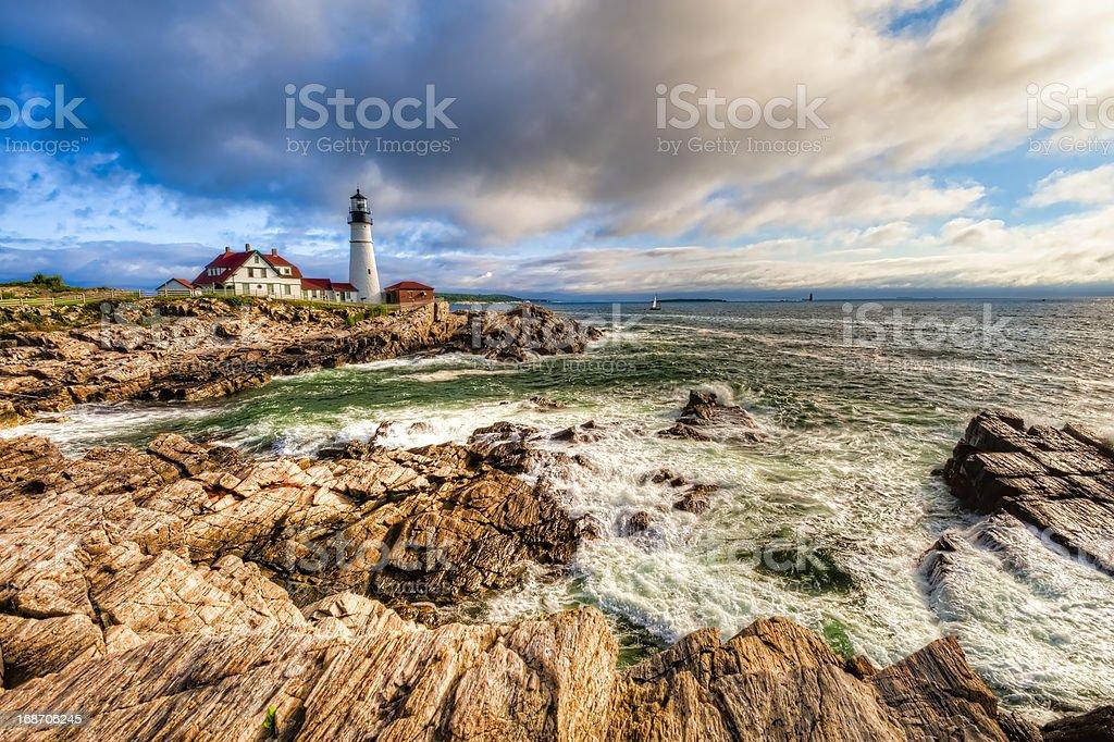 Portland Head Lighthouse royalty-free stock photo