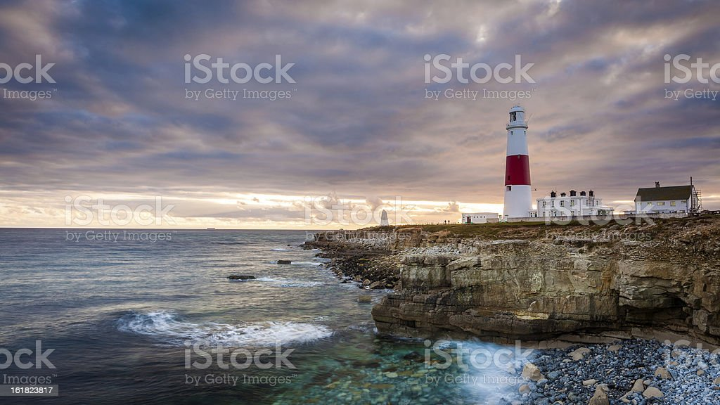 Portland Lighthouse, Dorset, UK stock photo