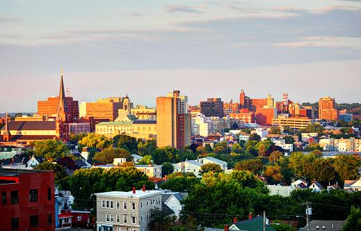 Portland Maine Downtown Skyline Stock Photo - Download ...