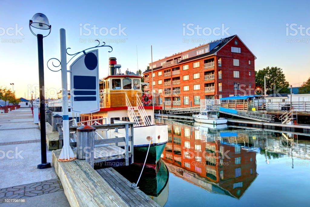 Portland Maine Stock Photo - Download Image Now - iStock