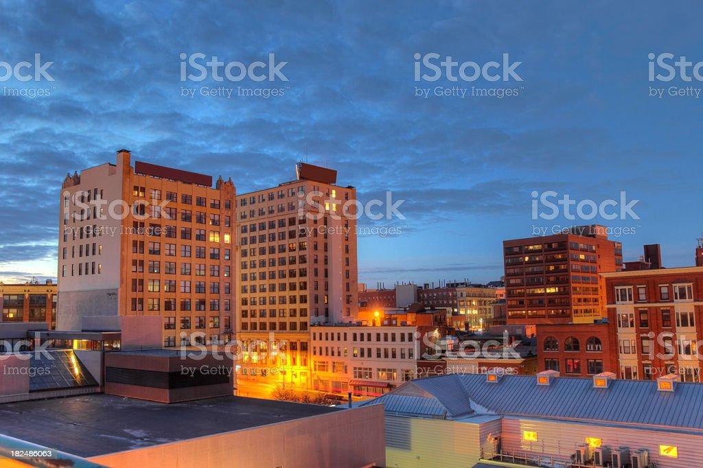 Portland, Maine royalty-free stock photo