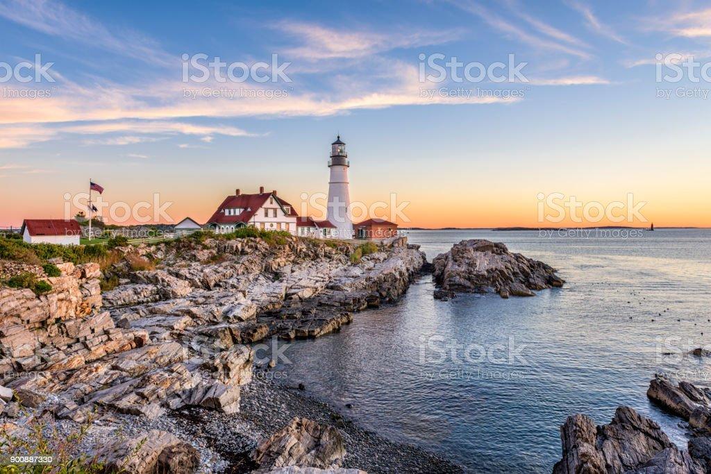 Foto de Portland Maine Estados Unidos Da América e mais fotos de ...
