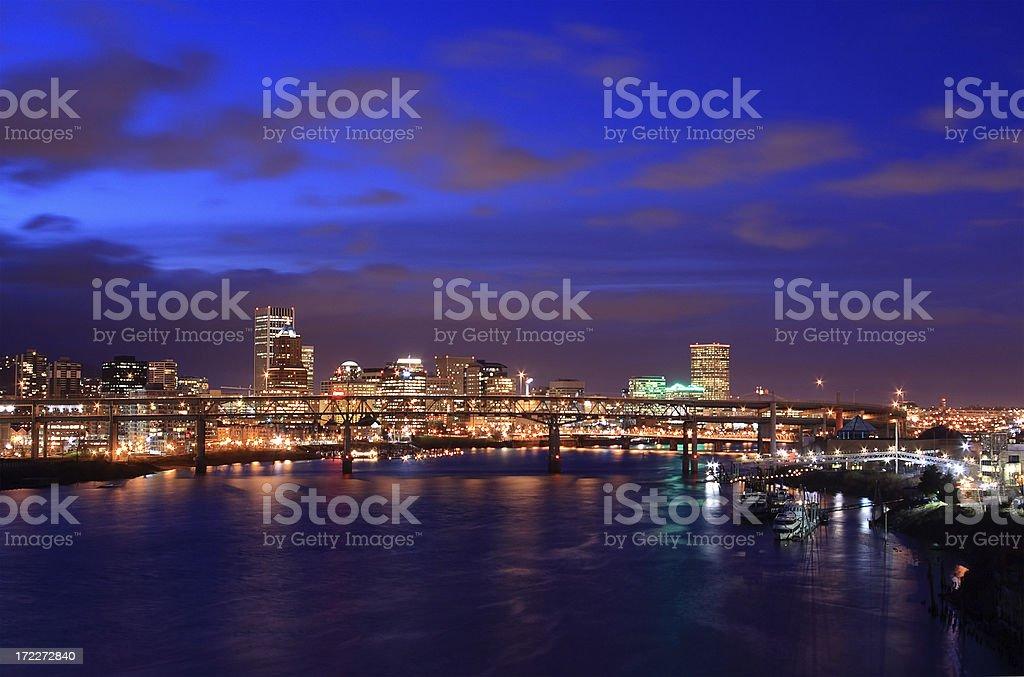 Portland, Or skyline royalty-free stock photo