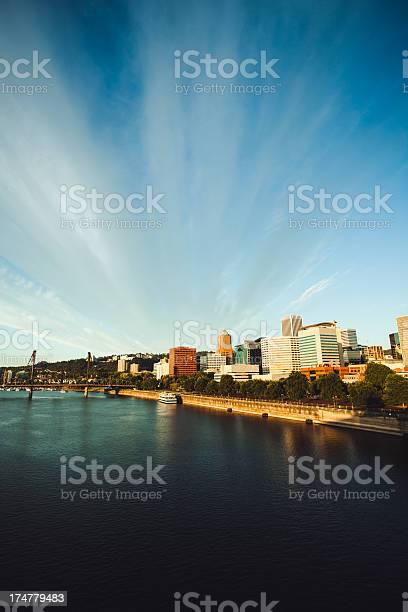 Portland Oregon Downtown Sunrise