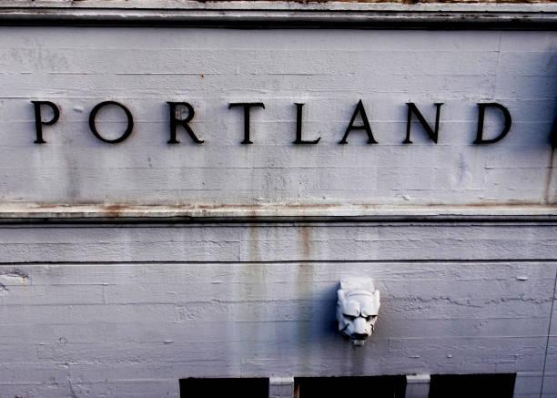 Portland-Zeichen – Foto