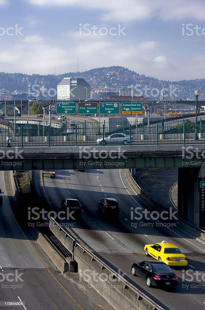 Portland Traffic Stock Photo - Download Image Now - iStock