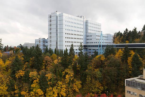 Portland's VA Hospital in the Fall