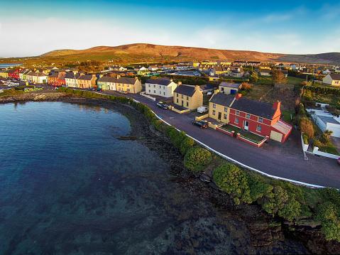 Portmagee in County Kerry Ireland