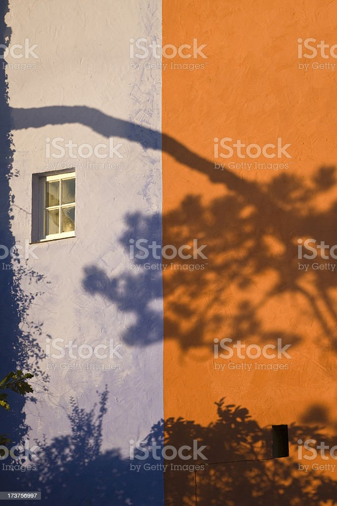 Portmeirion Shadow stock photo
