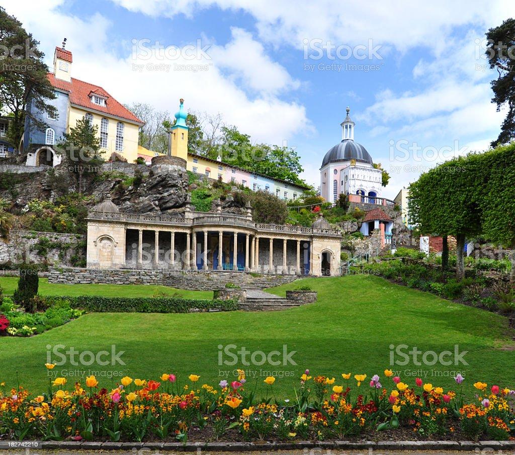 Portmeirion Village royalty-free stock photo