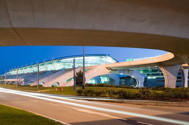 porto airport stock photo