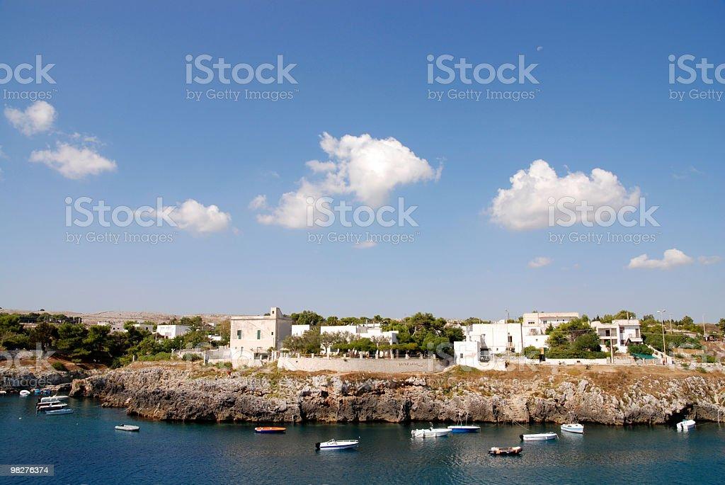 Porto Badisco royalty-free stock photo