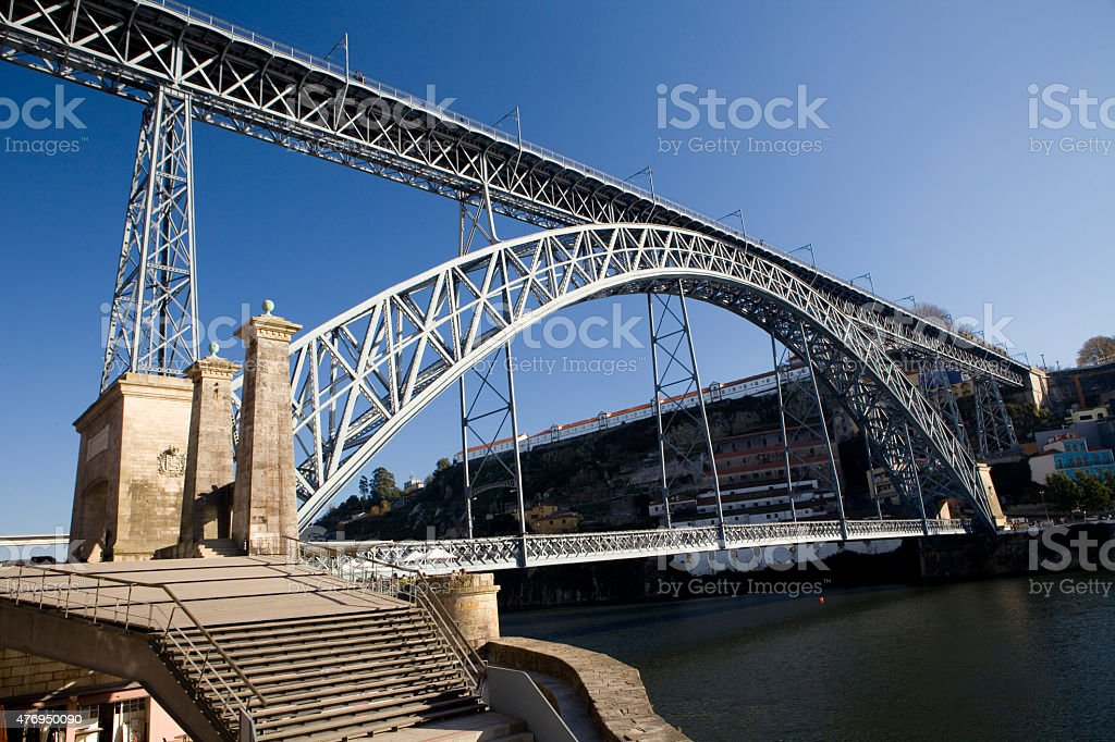 Porto Bridge stock photo