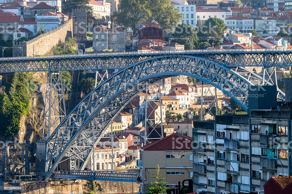 Porto Bridge stock photo