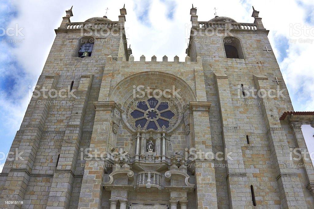 Porto Cathedral royalty-free stock photo