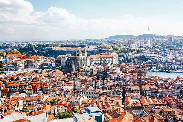 Porto Cathedral (Se do Porto). stock photo