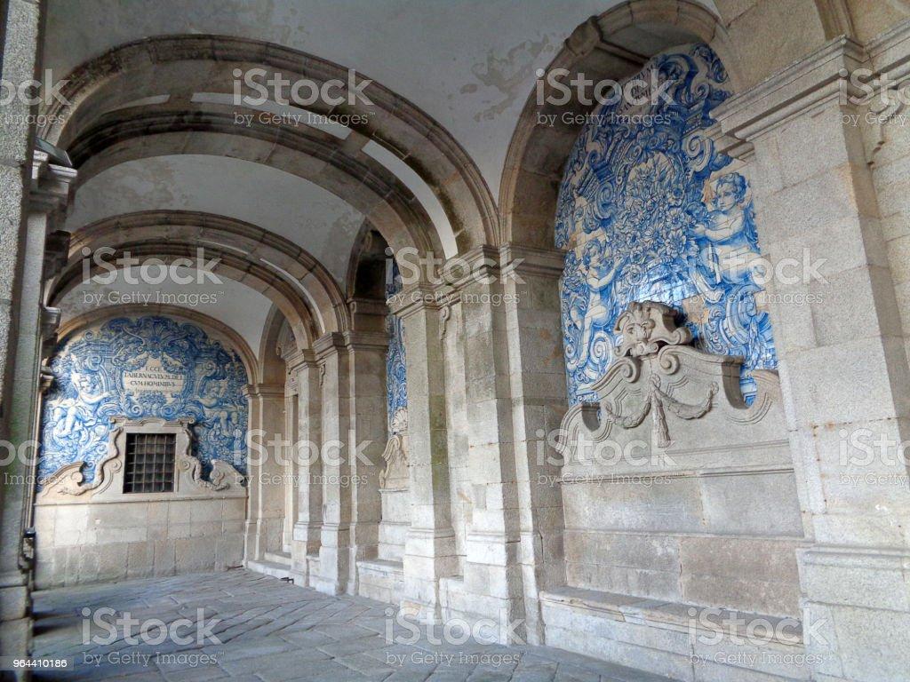 Cidade do porto em Portugal - Foto de stock de Antigo royalty-free