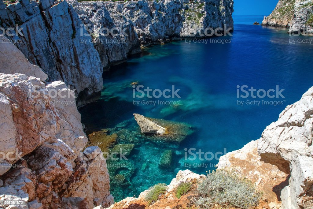Parco Porto Conte Alghero stock photo
