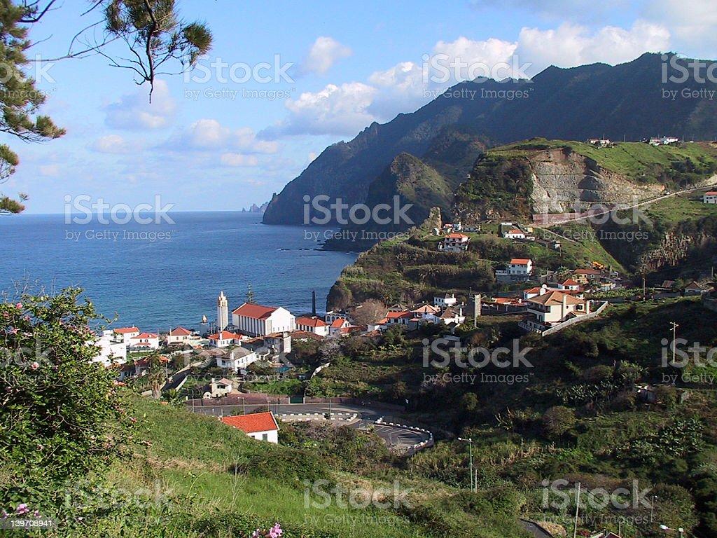 Porto da Cruz - Madeira stock photo