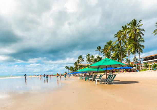 Porto de Galinhas Beach in der Gemeinde Ipojuca, Pernambuco, Brasilien. – Foto